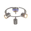 Brilliant Oxin 3 Light Flush Ceiling Light