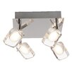 Brilliant Narcissa 4 Light Semi Flush Ceiling Light