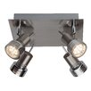 Brilliant Kassandra 4 Light Semi Flush Ceiling Light
