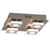 Brilliant 4 Light Flush Ceiling Light