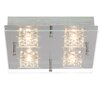 Brilliant Martino 2 Light Semi Flush Mount