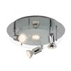 Brilliant Virginia 4 Light Semi Flush Ceiling Light