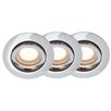 Brilliant Easy Clip Recessed Light Set (Set of 3)