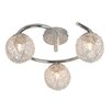 Brilliant Belis 3 Light Semi Flush Ceiling Light