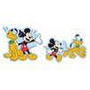 Disney 2 Piece Mickey Mini Foam Elements Wall Sticker Set