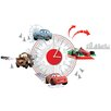 Disney Cars Clock Sticker