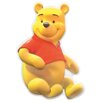 Disney Winnie The Pooh 3D Wall Sticker