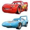 Disney 2 Piece Cars Mini Foam Elements Graphic Art Wall Sticker Set