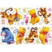 Disney Winnie The Pooh Gang Wall Sticker