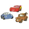 Disney Cars 3 Piece Foam Elements Wall Sticker Set