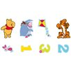 Disney Winnie The Pooh 24 Piece Mini Foam Elements Wall Sticker Set