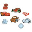 Disney 24-tlg. Wandtattoo-Set Cars 2 Mini Foam Elements