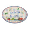 Stupell Industries The Kids Room Baby Room Oval Wall Plaque