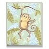 Stupell Industries The Kids Room Monkey Jungle Rectangle Wall Plaque
