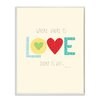 Stupell Industries Where there is Love Typography Textual Art Plaque