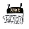 Stupell Industries Soap Is Not Just for Decoration Over the Door Organizer Basket