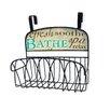 Stupell Industries Bathe Over the Door Organizer Basket