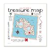 Stupell Industries The Kids Room How to Read Treasure Map Wall Plaque