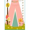 Stupell Industries Tree and Tent Growth Chart