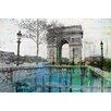 Parvez Taj George V - Art Print on Premium Wrapped Canvas