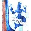 Parvez Taj Positano Ocean Nymph - Art Print on Premium Wrapped Canvas