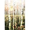 Parvez Taj Daisy Forest by Parvez Taj Graphic Art on Wrapped Canvas