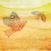 Parvez Taj Love Birds - Art Print on Premium Wrapped Canvas