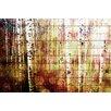 Parvez Taj Aspen - Art Print on White Pine Wood