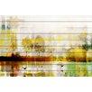 Parvez Taj Orr Lake - Art Print on White Pine Wood