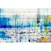 Parvez Taj Morrison Lake - Art Print on White Pine Wood