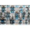 Parvez Taj Parrots in Blue Graphic Art on Premium Wrapped Canvas