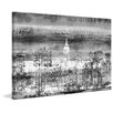 Parvez Taj Big Apple Night Painting Print on Wrapped Canvas