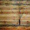 """Parvez Taj Landscape & Nature """"Tree Stands Alone"""" Painting Print"""