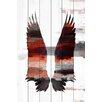 "Parvez Taj Birds & Butterflies ""Dark Wings"" Painting Print"
