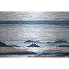 Parvez Taj Hidden Blue Mountains Painting Print Plaque