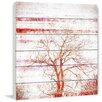 "Parvez Taj Landscape & Nature ""Orange Tree"" Painting Print"