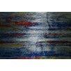 "Parvez Taj ""Blue Silence"" Painting Print"