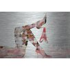Parvez Taj Red Panties Painting Print Plaque