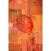 Parvez Taj 'Shrouded Rose' Painting Print on Wrapped Canvas