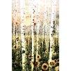 Parvez Taj Daisy Forest Graphic Art on Wrapped Canvas