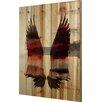Parvez Taj Birds & Butterflies Red Wings Graphic Art Plaque