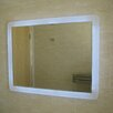 Lite-Tech Halo Rectangular  LED Demister Illuminated Mirrorr