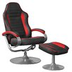 Amstyle Standard-Relaxsessel Sporting TV mit Fußhocker