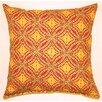 Creative Home Sun Swirl Knife Edge Cotton Throw Pillow (Set of 2)