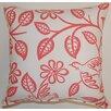 Creative Home Love Birds Cotton Throw Pillow