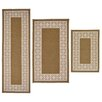 Madison Home 3 Piece Tripoli Beige Area Rug Set