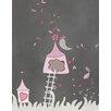Secretly Designed Birdhouse Graphic Art Paper Print