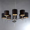 Warehouse of Tiffany Branch 8 Light Crystal Chandelier