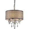 Warehouse of Tiffany Lush 4 Light Crystal Drum Chandelier