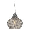 Warehouse of Tiffany Kiss 1 Light Mini Crystal Chandelier
